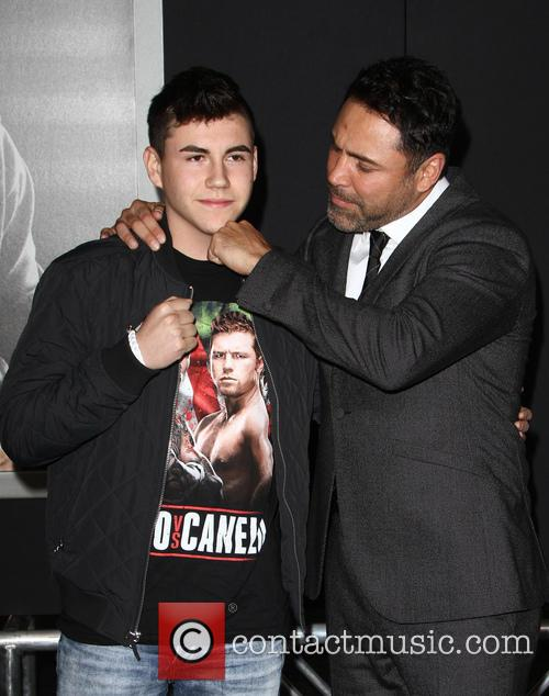 Devon De La Hoya and Oscar De La Hoya 2