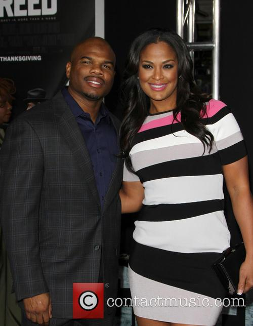 Laila Ali and Curtis Conway 1