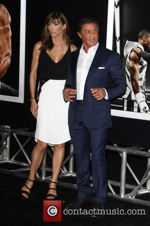 Jennifer Flavin and Sylvester Stallone 1
