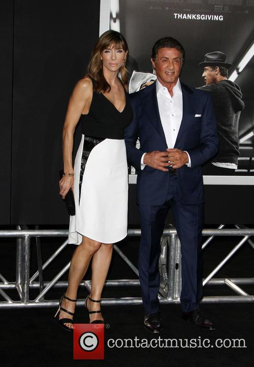 Jennifer Flavin and Sylvester Stallone 3