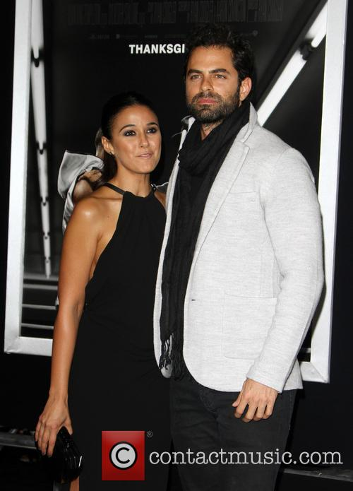 Emmanuelle Chriqui and Adrian Bellani 2