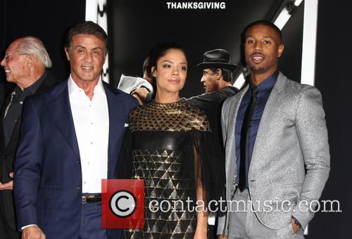 Sylvester Stallone, Jill Marie Jones and Michael B. Jordan 1