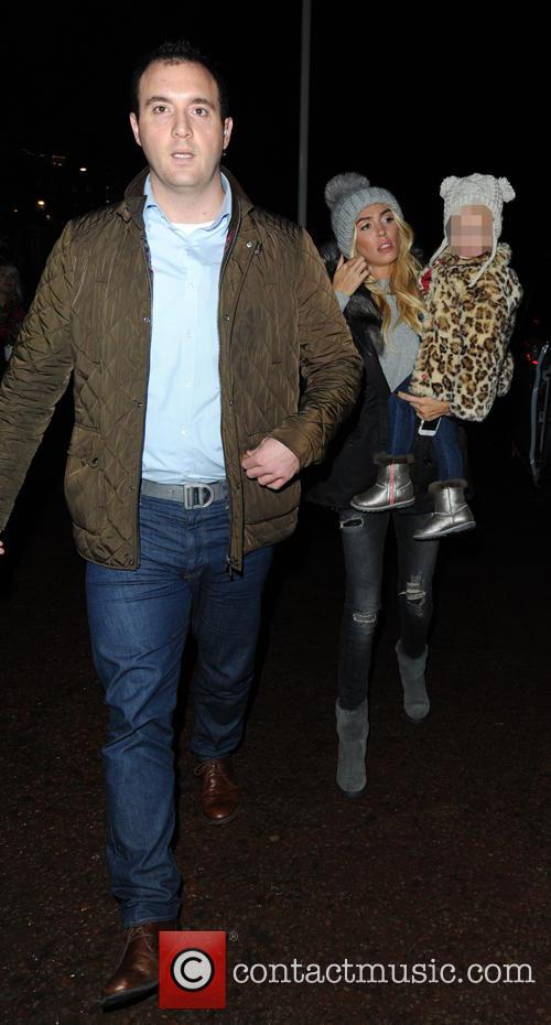 Petra Ecclestone arriving at the Winter Wonderland