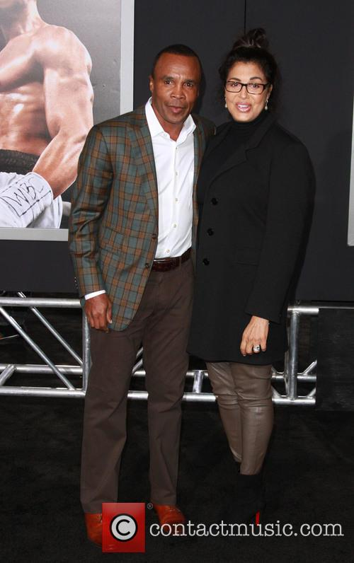 Sugar Ray Leonard and Wife Bernadette Robi 1