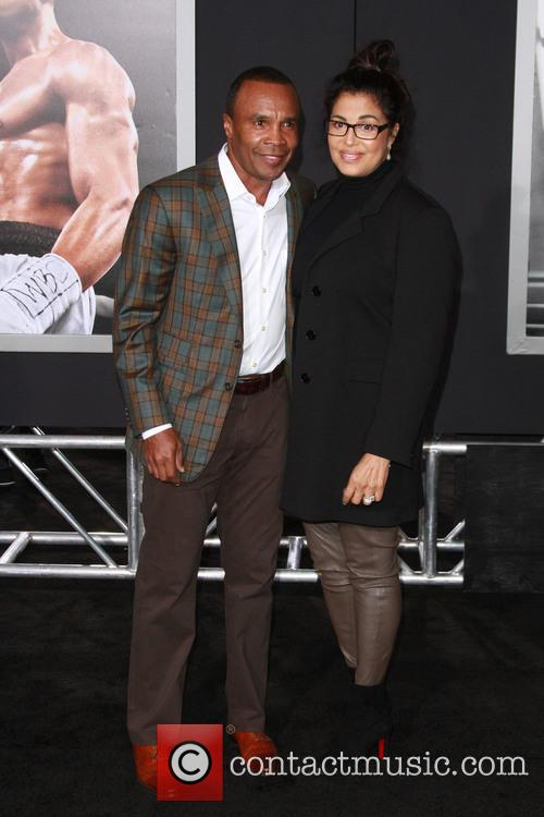 Sugar Ray Leonard and Wife Bernadette Robi 2