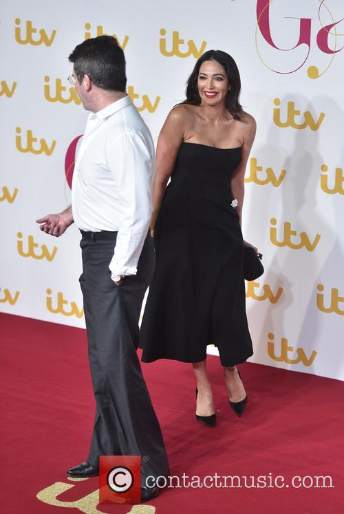 Lauren Silverman and  simon Cowell 3