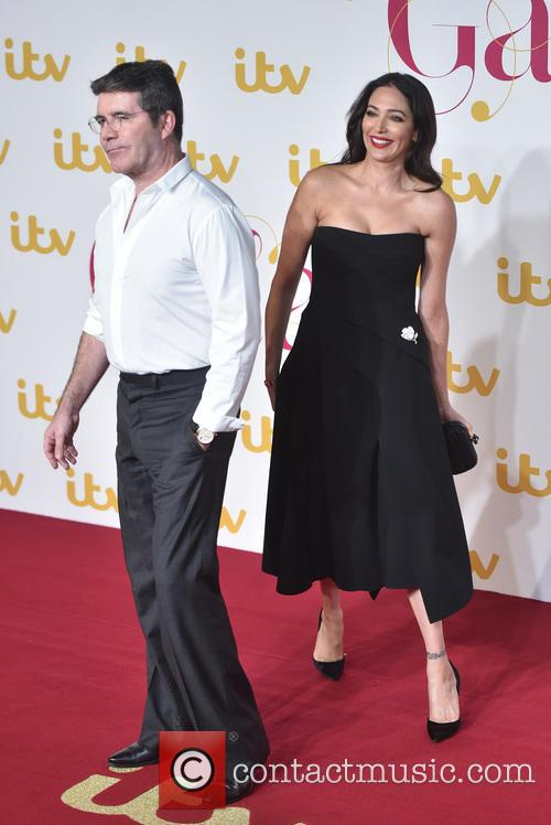 Lauren Silverman and  simon Cowell 4