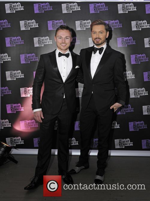 Brian Dowling and Andrew Hayden-smith 2