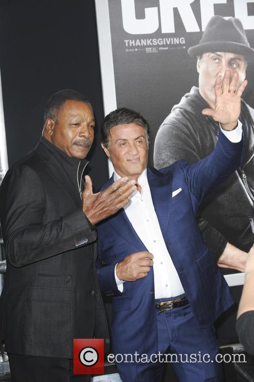 Carl Weathers and Sylvester Stallone 3