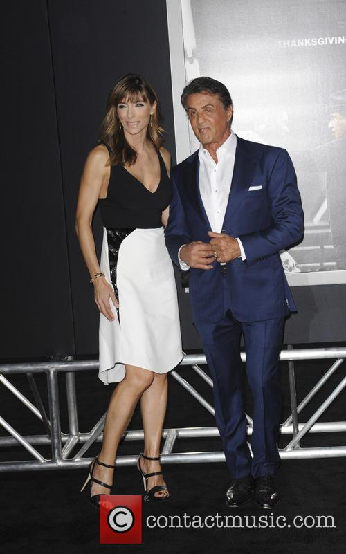 Jennifer Flavin and Sylvester Stallone 2