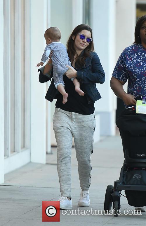 Jessica Biel and Silas Randall Timberlake 2