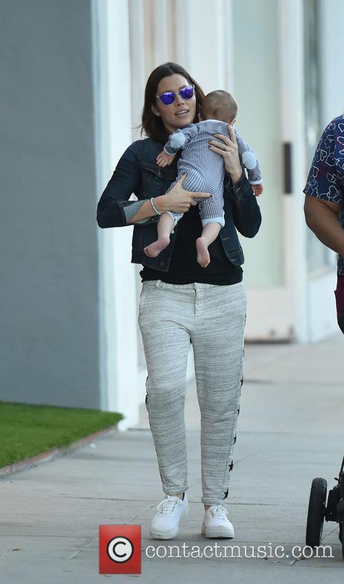 Jessica Biel and Silas Randall Timberlake 5