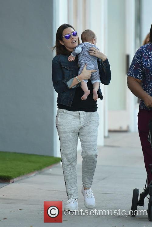 Jessica Biel and Silas Randall Timberlake 6
