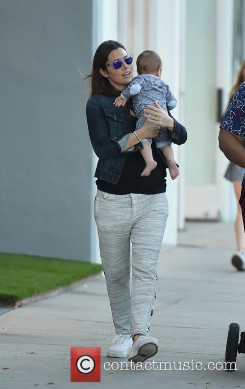 Jessica Biel and Silas Randall Timberlake 8