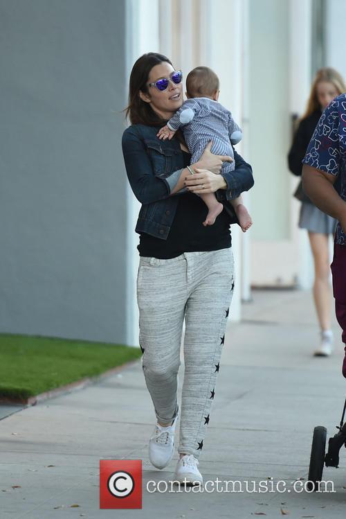Jessica Biel and Silas Randall Timberlake 9