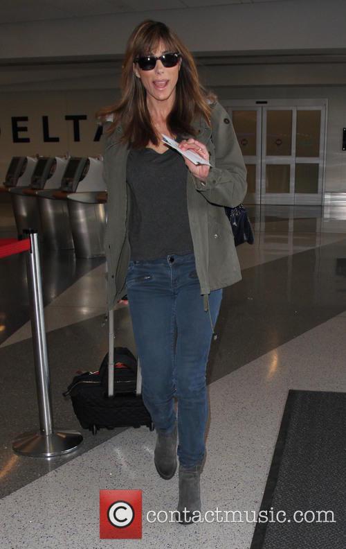 Jennifer Flavin arrives at Los Angeles International (LAX)...