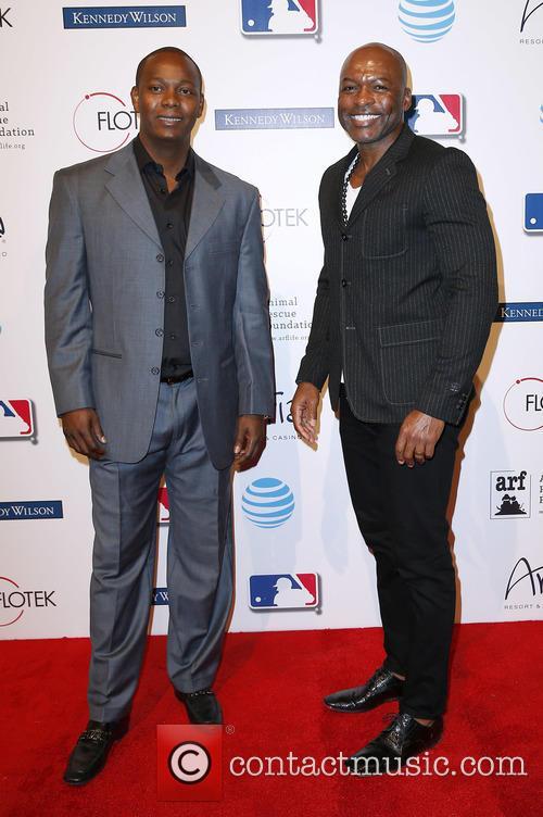 Edgar Renteria and Reggie Sanders 1