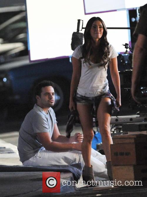 Megan Fox and Jake Johnson 2
