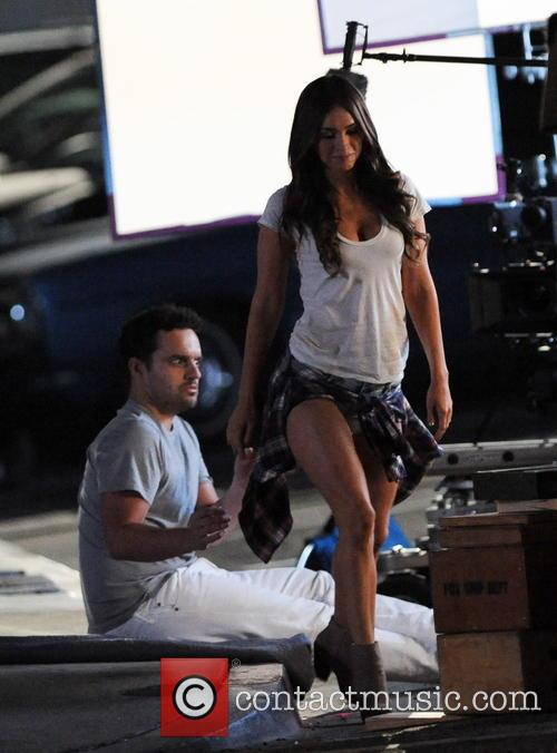 Megan Fox and Jake Johnson 4