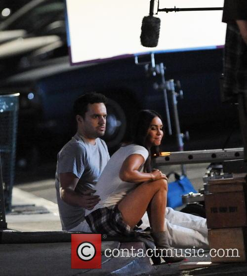 Megan Fox and Jake Johnson 9