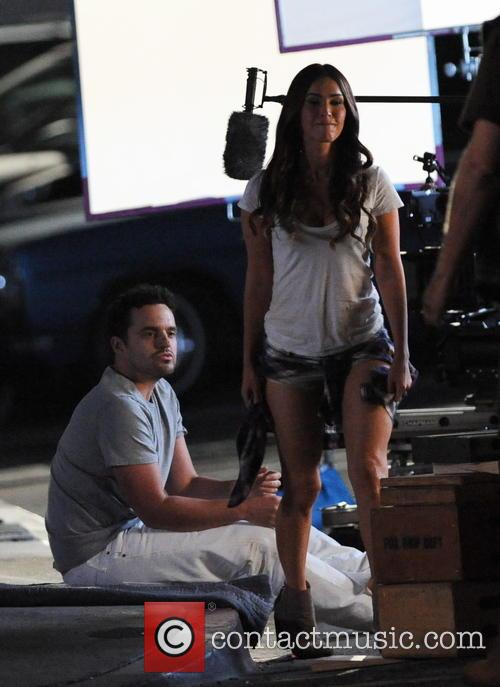 Megan Fox and Jake Johnson 11