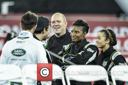 Mike Tindall, Denise Lewis and Ella Eyre 8