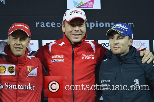 Chris Hoy and Sebastian Vettel 8