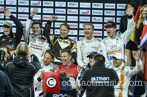 Jason Plato, David Coulthard and Peter Solberg 1