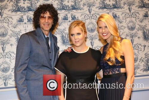 Howard Stern, Amy Schumer and Beth Ostrosky Stern