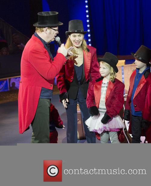 Big Apple Circus Jim Gaffigan Guest Ringmaster