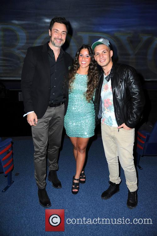 Marco Schreyl, Sarah Lombardi Engels and Pietro Lombardi 1