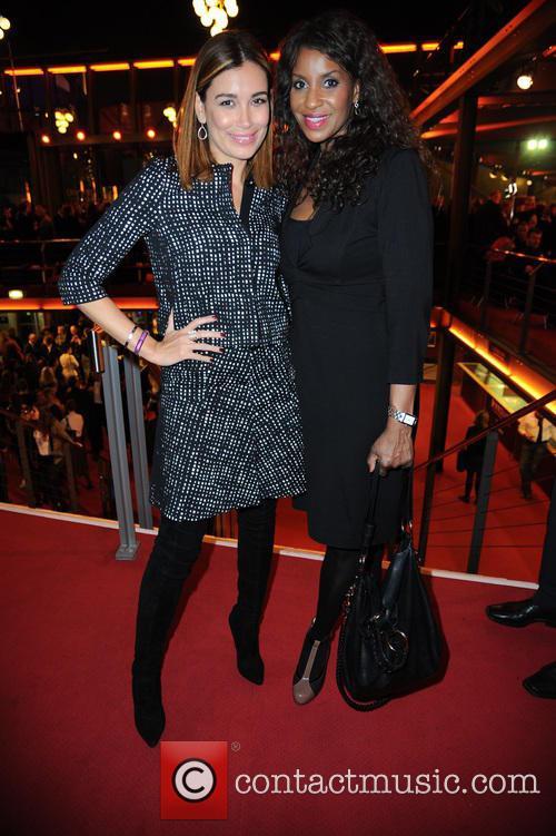 Jana Ina Zarrella and Liz Baffoe 1