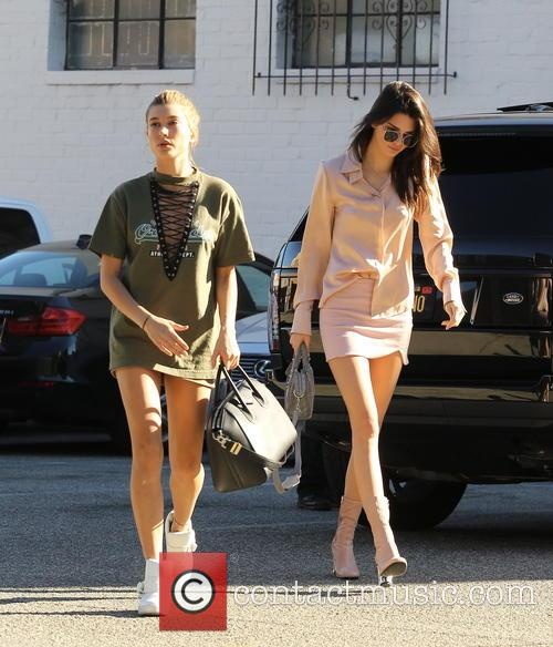 Kendall Jenner and Hailey Baldwin 3