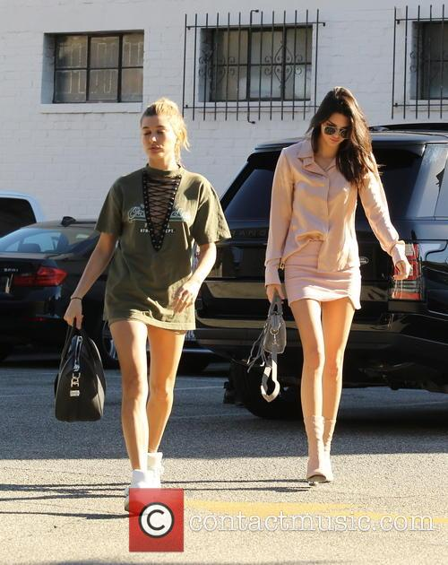 Kendall Jenner and Hailey Baldwin 5