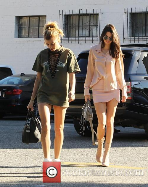 Kendall Jenner and Hailey Baldwin 6