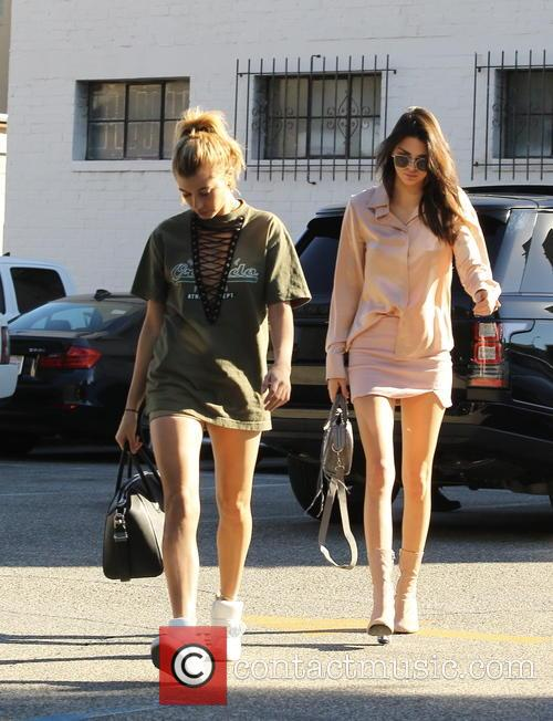 Kendall Jenner and Hailey Baldwin 7