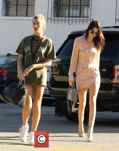 Kendall Jenner and Hailey Baldwin 9
