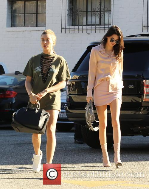 Kendall Jenner and Hailey Baldwin 10