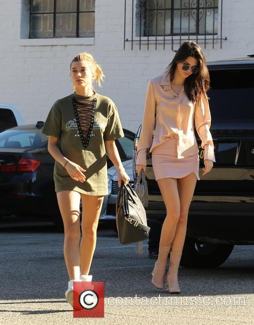 Kendall Jenner and Hailey Baldwin 11