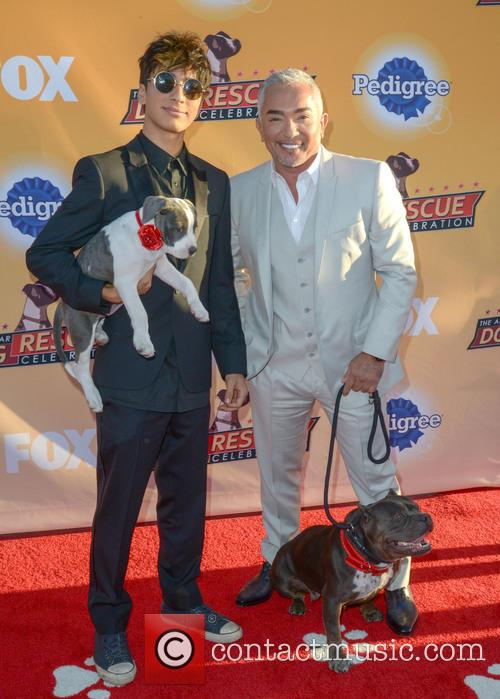 Calvin Millan and Cesar Millan 1