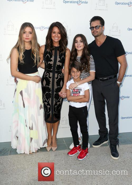 Neriah Fisher, Brooke Burke-charvet, Shaya Charvet, Sierra Fisher and David Charvet 2