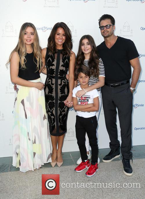 Neriah Fisher, Brooke Burke-charvet, Shaya Charvet, Sierra Fisher and David Charvet 3