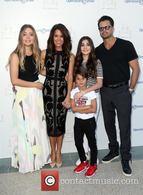 Neriah Fisher, Brooke Burke-charvet, Shaya Charvet, Sierra Fisher and David Charvet 4