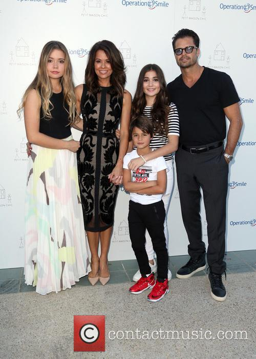 Neriah Fisher, Brooke Burke-charvet, Shaya Charvet, Sierra Fisher and David Charvet 5