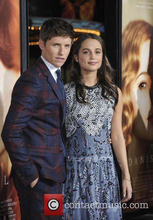 Eddie Redmayne and Alicia Vikander 7