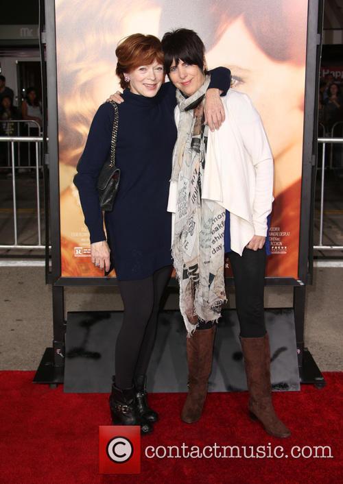 Frances Fisher and Diane Warren 8