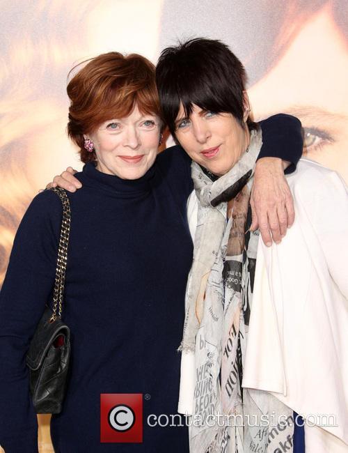 Frances Fisher and Diane Warren 10