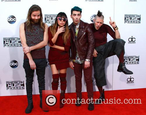 Cole Whittle, Jinjoo Lee, Joe Jonas and Jack Lawless Of Dnce 1