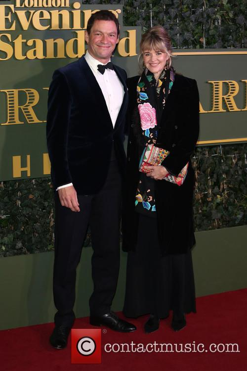 Dominic West and Catherine Fitzgerald 1