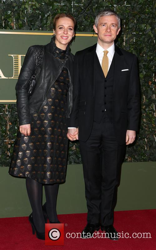 Amanda Abbington and Martin Freeman 2